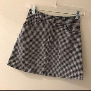 Brandy Melville checkered shirt
